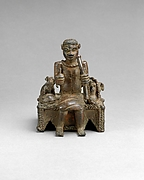 Figure: Oba with Sacrificial Animals from the Ezomo's Altar of the Hand