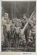 Pygmies from the Mt. Goliath Region, Indonesia