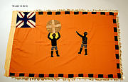 Appliquéd Battalion Flag (Asafo)