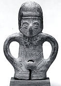 Ceramic Whistle in the Form of a Standing Figure