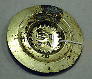 Copper Disk Ornament