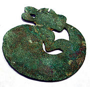 Copper Animal Disk