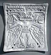 Plaque with Masked Figure