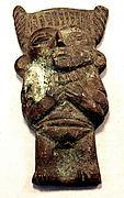 Cast Bronze Figure Ornament