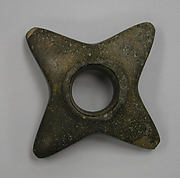 Stone Mace Head with Four Points