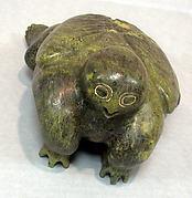 Greenstone Zoomorphic Figure