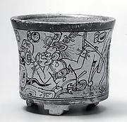 Vessel, Mythological Scene