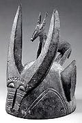 Helmet Mask with Antelope (Nookaariga)