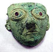 Copper Face Mask Ornament