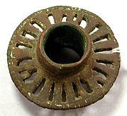 Copper Openwork Mace Head
