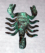 Scorpion Ornament