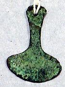 Copper Tumi Pendant