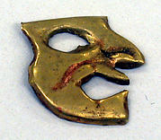 Gold Face Mask Ornament