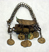 Arm Band: Stool Motif with Pendants