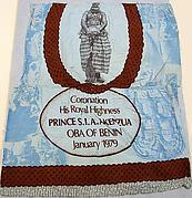 Commemorative Panel for Oba