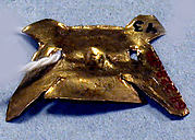 Hammered Gold Ornament Fragment
