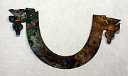 Hammered Silver Arc Ornament