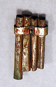 Hammered Silver Panpipe