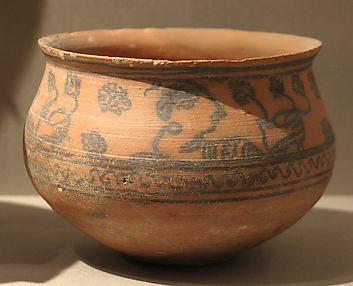 Bowl Decorated with a Procession of Women