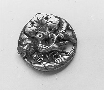Ornament with Decoration of Bird among Lotuses