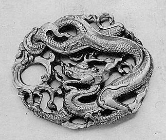 Ornament with Decoration of a Dragon