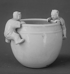 Water Pot with Boys