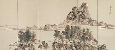 Views of Lake Biwa at Sakamoto