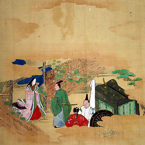 Scene from The Tale of Genji: Chapter 4,