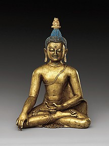 Seated Buddha Reaching Enlightenment
