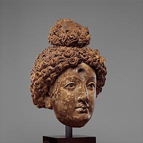 Head of a Buddha or Bodhisattva