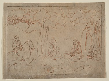 Rama and Lakshmana Visit the Hermitage of an Ascetic