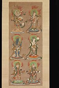 十二天像 <br/>Twelve Deva Kings (Jūniten)