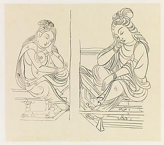 Pensive Bodhisattvas