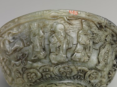 Bowl with Shoulao, God of Longevity