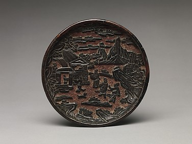 Pair of Dishes with Scenes from the Romance of the Three Kingdoms