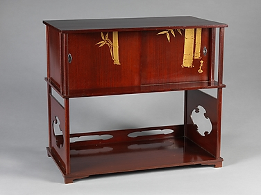 Tea Cabinet with Bamboo