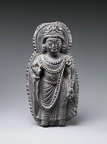 Bodhisattva with Radiate Halo and Mandorla