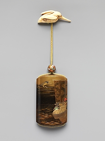 Inrō with Treasure Boat