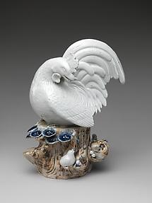 牝鶏と雛 肥前焼・平戸様式<br/>Hen with Chicks