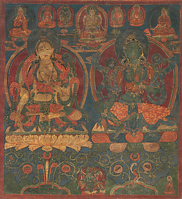 White Tara and Green Tara