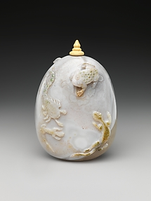 Snuff Bottle with Poisonous Animals