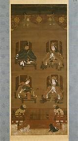 Mandala of the Four Deities of Mount Kōya