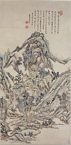 Landscape for Zhanting