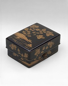 Box for Accessories, with Illustrations from the Kikujidō