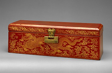 Sutra Box with Dragon