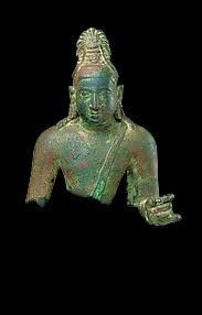 Torso of Bodhisattva, probably Avalokiteshvara
