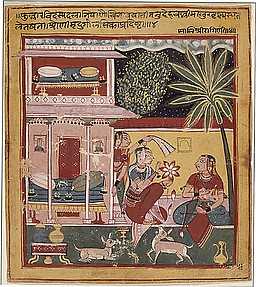 Malashri Ragini: Folio from the Chawand Ragamala Series