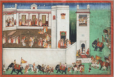 Wedding Ceremony of Rama and Sita: Folio from Ramayana Series