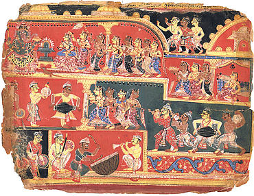 Rukmini at the Parvati Temple: Folio from a Bhagavata Purana Manuscript