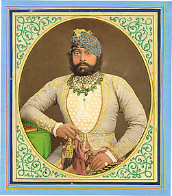 Portrait of Jaswant Singh II of Jodhpur (1873–1896)